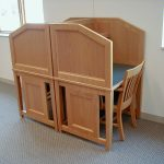 wood library study corral