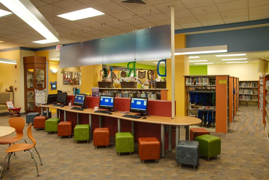 Murrysville Public Library Children S Area Renovation J
