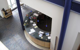 Modern Library Circulation Desk