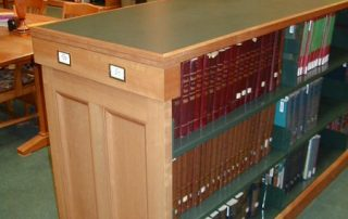 Classic Library Shelving